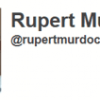 Rupert Murdoch joins Twitter, the world laughs
