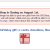 The Facebook Gift Shop Closes Its Doors, Focus Shifts to Improving Other Features