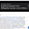 A Personal Appeal from Wikipedia Founder Jimmy Wales to Read This Blog Post