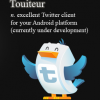 Android App Roundup! Touiteur (Twitter) and ROM Manager (for rooted phones)