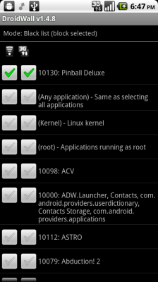 Droidwall The Aptly Named Android Firewall Solution Techerator