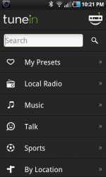 Radio stations on Android