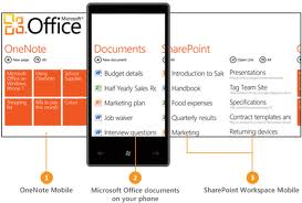 WP7 Office Hub
