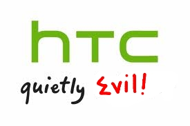 HTC Quietly Evil