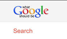 what Google should be