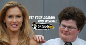 GoDaddy Super Bowl commercial