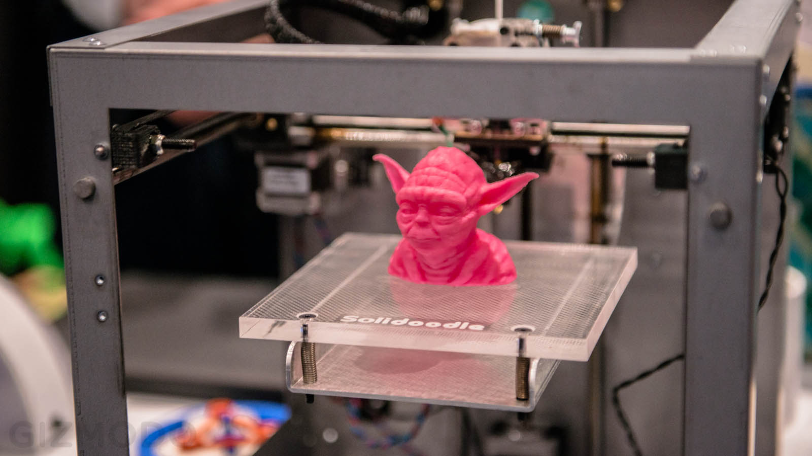 3d printers approaching mass production as key patents for Made with 3d printer