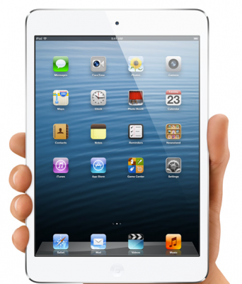 The White iPad Mini