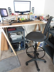 drafting-stool