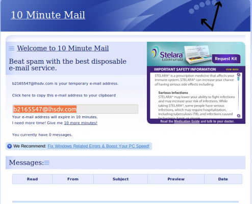 Prevent and Block Spam Email with 10 Minute Mail | Techerator