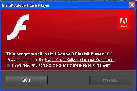 Do you sometimes get the warning regarding using Adobe Flash via your current browser, or have you ever been prompted to update your Flash plugin?