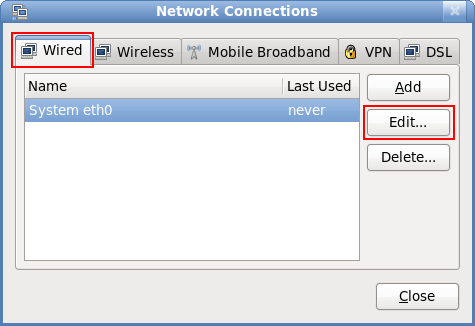 how to stop network manager in fedora