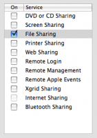 Bonjour Services on the Mac