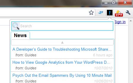 Google chrome extensions techerator give the techerator extension for google chrome a publicscrutiny Choice Image